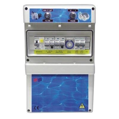 montaje cuadros piscina