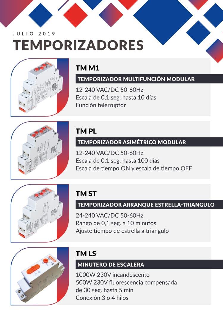 temporizador modular TM